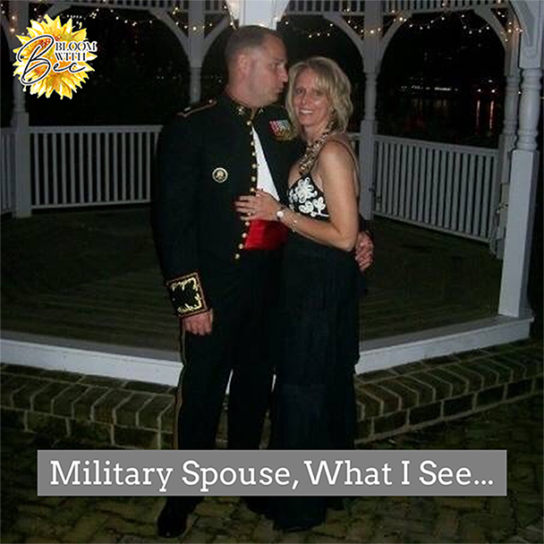 Military Spouse, What I See…