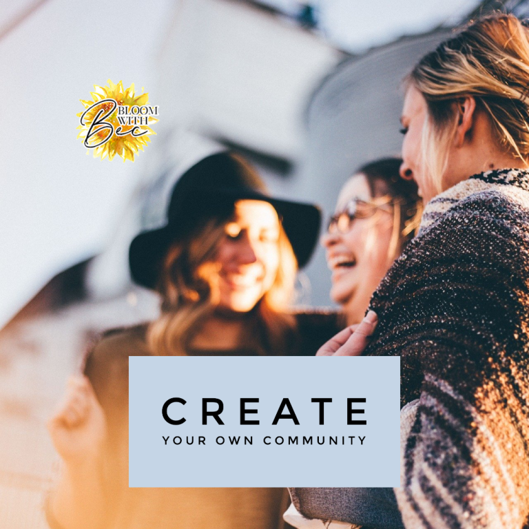 Create Your Own Community