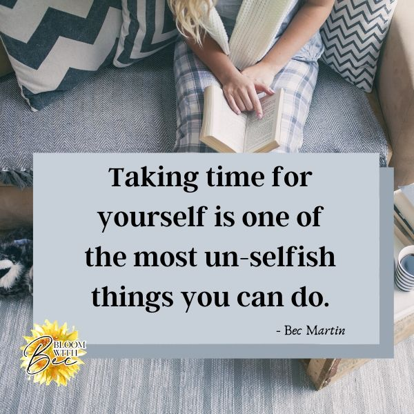 One Of The Most UN-SELFISH Things You Can Do