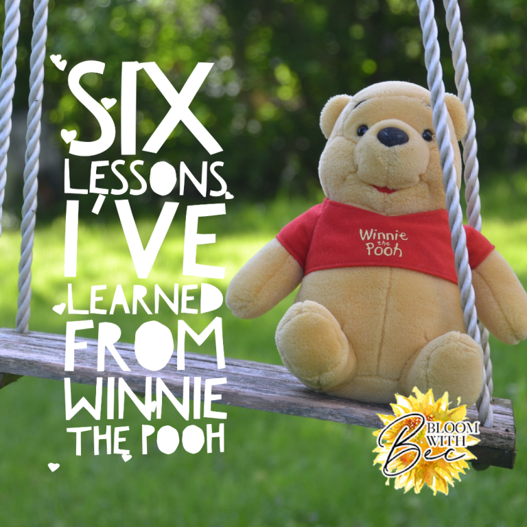 Six Lessons I've Learned From Winnie the Pooh